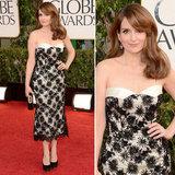 Tina Fey | Golden Globes Red Carpet Fashion 2013