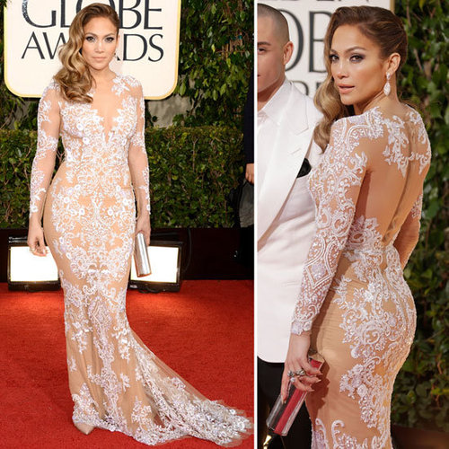 Jennifer Lopez | Golden Globes Red Carpet Fashion 2013