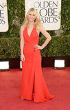Claire Danes hit the red carpet in a Versace gown that not only showed off her insane postbaby body, but also highlighted the fact that the Homeland star is not afraid of color.
