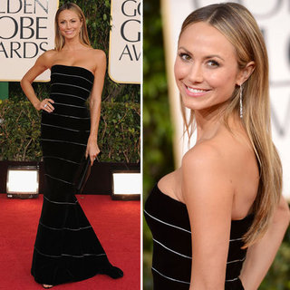 Stacy Keibler | Golden Globes Red Carpet Fashion 2013