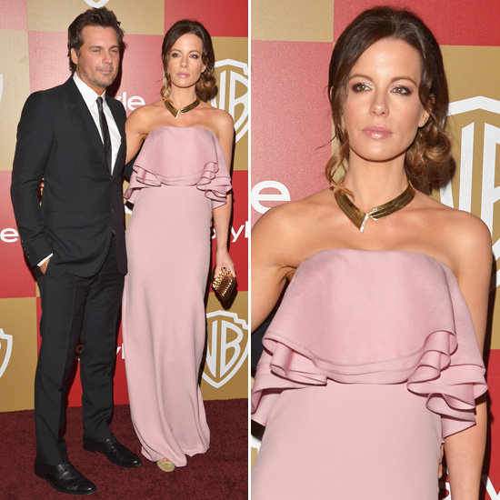 Kate Beckinsale | Golden Globes Party Fashion 2013