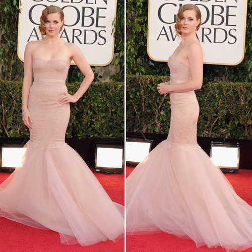 Amy Adams | Golden Globes Red Carpet Fashion 2013