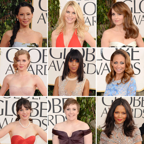 See Who Wore What: Celebs at the 2013 Golden Globe Awards