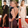 Golden Globes Sexiest Dresses 2013