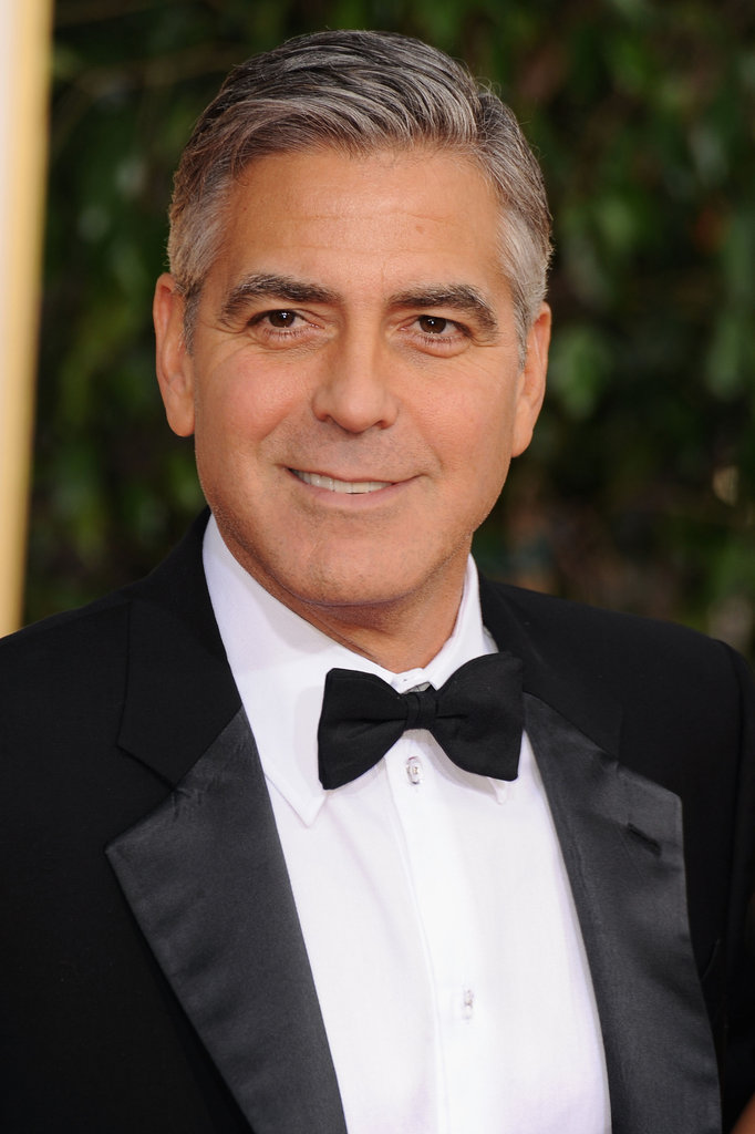 Now: George Clooney