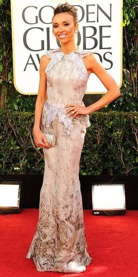 Giuliana Rancic(2013 Golden Globes Awards)
