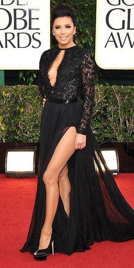Eva Longoria(2013 Golden Globes Awards)