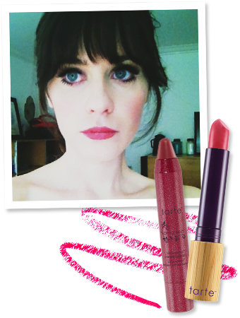 Found It! Zooey Deschanel's Golden Globes Lip Color