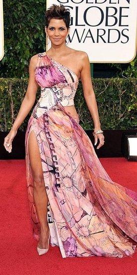 Halle Berry(2013 Golden Globes Awards)