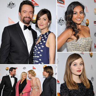 Australian Celebrities At 2013 G'Day USA Black Tie Gala