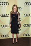 Kate Bosworth wore black to the LA event.