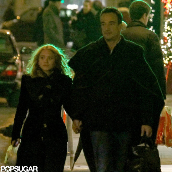 Mary-Kate Olsen and Olivier Sarkozy spent time in Paris.