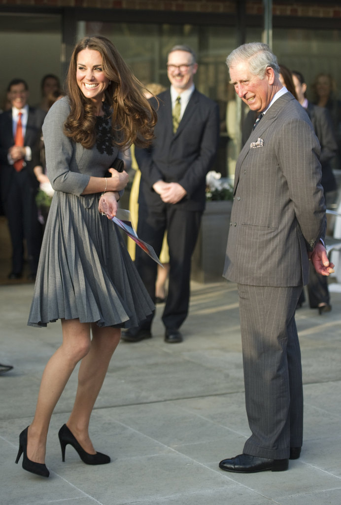 She Was Nervous to Meet Prince Charles