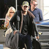 Orlando Bloom Travels Out of LAX