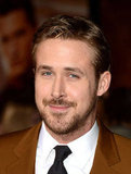 Ryan Gosling went scruffy to the premiere.