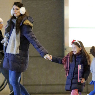 Katie Holmes and Suri Cruise Out in NYC | Pictures