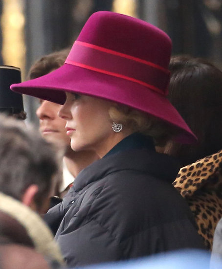 Nicole Kidman filmed in Paris