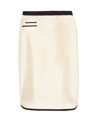Take your tux to work? You can with this J.Crew Tuxedo Wool and Silk-Blend Pencil Skirt ($158) — a very chic alternative to tuxedo trousers that's begging to be styled with a crisp button-down and your chicest heels.
