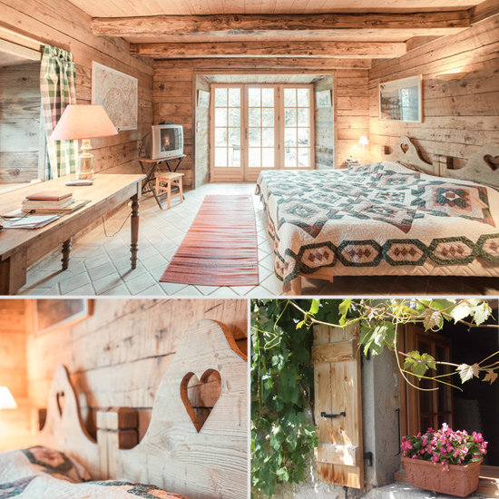Sure, the French Alps location is a perk, but the heart-carved headboards, posy-filled window boxes, and other quaint details give this cottage an irresistible storybook feel.