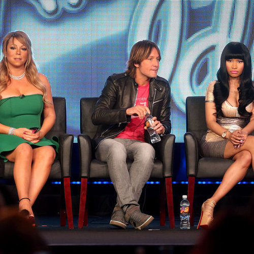 American Idol Season 12 TCA With Mariah Carey, Nicki Minaj