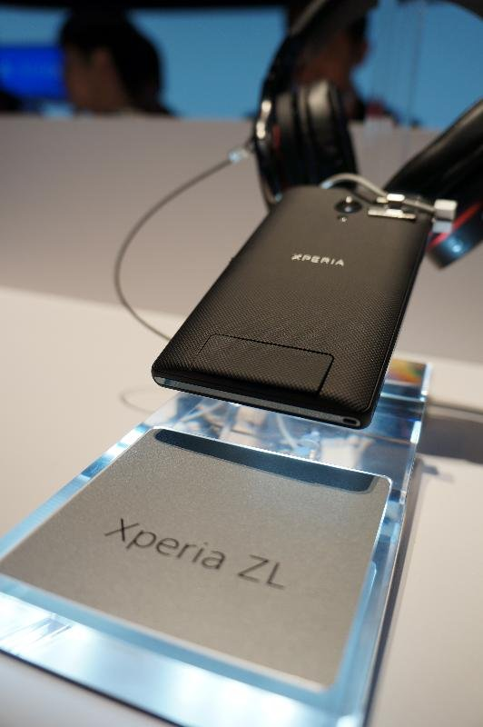 On the inside, the 4G LTE-capable Xperia ZL is almost a carbon copy of the Xperia Z, but it looks and feels very different. Instead of tempered glass, the back is rubberized and soft, which is why the Sony spokesperson told me that the Xperia ZL will likely be given a more affordable price point.