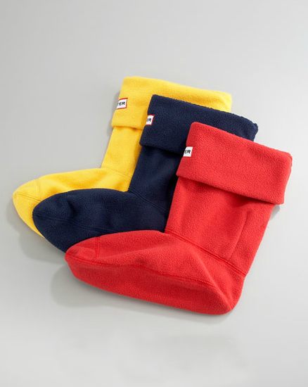 Hunter's fleece welly socks ($16, originally $25) are a Winter essential and they come in a wide range of colors for you to choose from so you can mix and match to your heart's content.