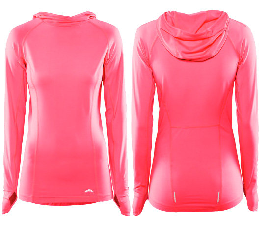 Hooded sports top ($25) from H&M Sports collection.