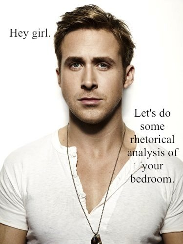 Ryan's feminist comments turn suggestive on Feminist Ryan Gosling.