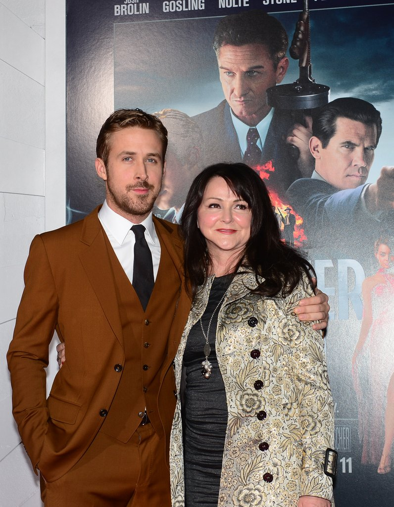 Ryan brought his mom as his date for the Gangster Squad premiere in LA last night.