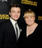 Chris Colfer and Rebel Wilson