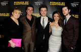 Rebel Wilson, Roberto Aguire, Chris Colfer, Sarah Hyland and Matt Prokop