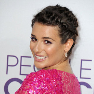 Lea Michele's Hair at the People's Choice Awards 2013