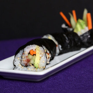 Vegetable Sushi Roll