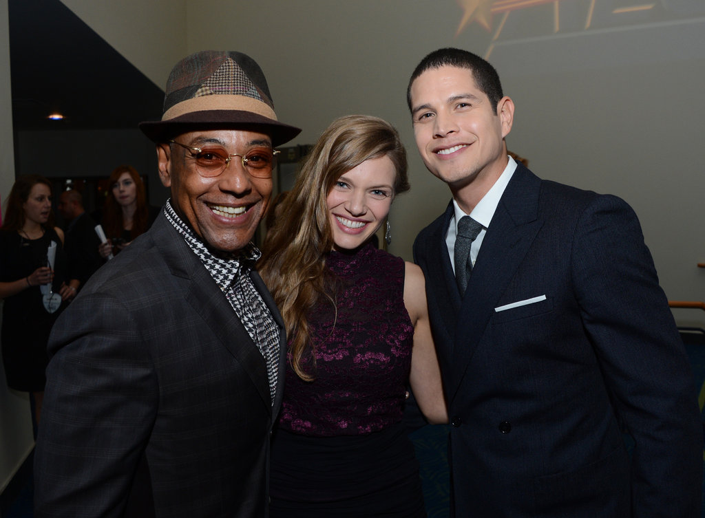 Giancarlo Esposito, Tracy Spiridakos, and JP Pardo