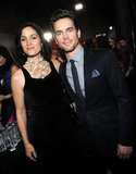Carrie-Anne Moss and Matt Bomer