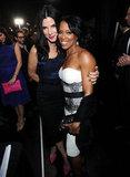 Sandra Bullock and Regina King smiled together.