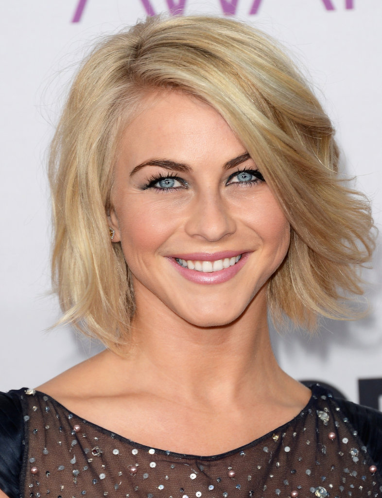 Julianne Hough walked the red carpet at the PCAs.