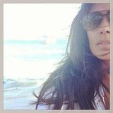 Designer Rachel Roy shared a photo from the beach. Source: Instagram user rachel_roy