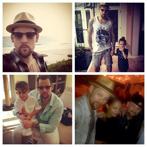 Joel Madden shared some family photos. Source: Twitter user JoelMadden