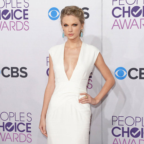 People's Choice Awards Red Carpet Arrivals 2013