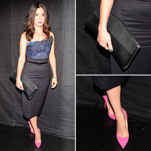 Sandra Bullock at People's Choice Awards 2013