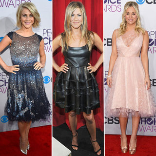 People's Choice Awards Dress Trend: Fit-and-Flare Dresses