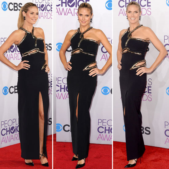 Pics of Heidi Klum in Julien McDonald People's Choice Awards