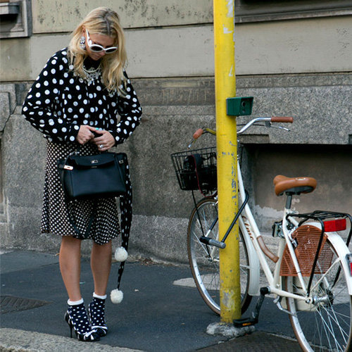 Best Polka-Dot Clothes and Accessories For Winter 2013