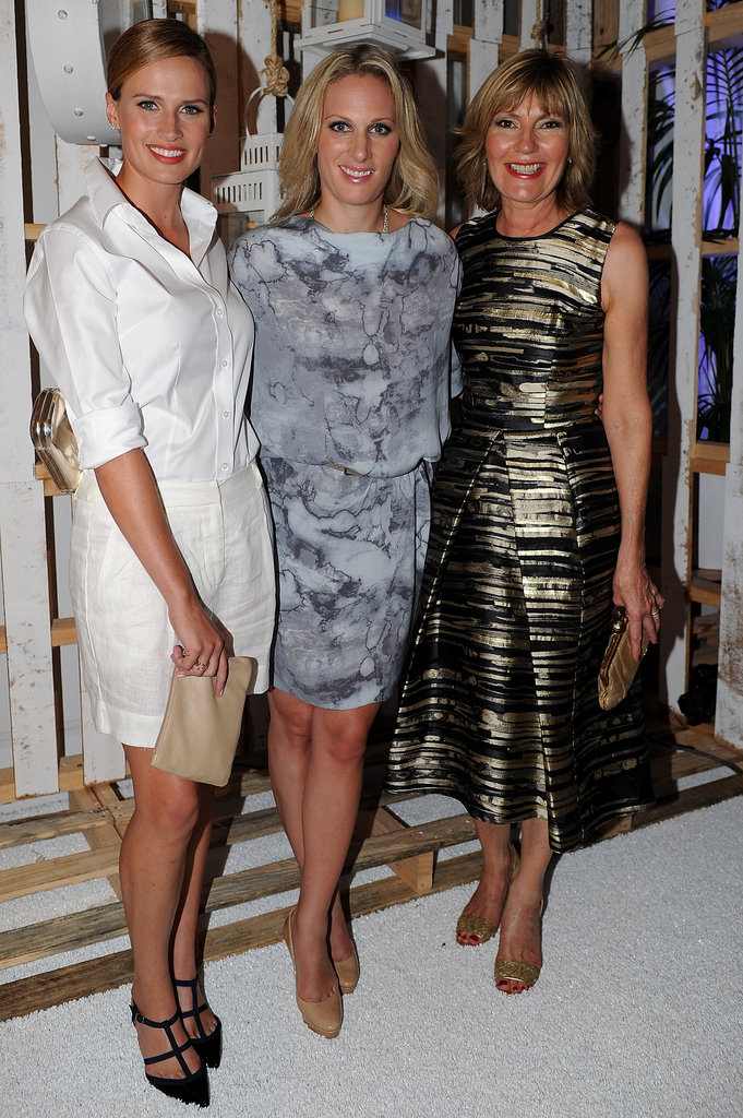 Francesca Cumani, Zara Phillips and Katie Page-Harvey
