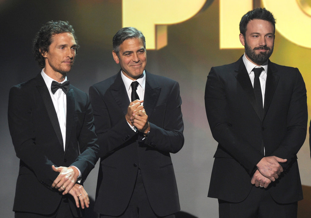 Matthew McConaughey, George Clooney, and Ben Affleck