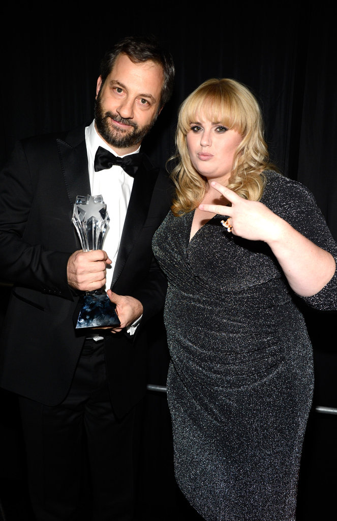 Judd Apatow and Rebel Wilson