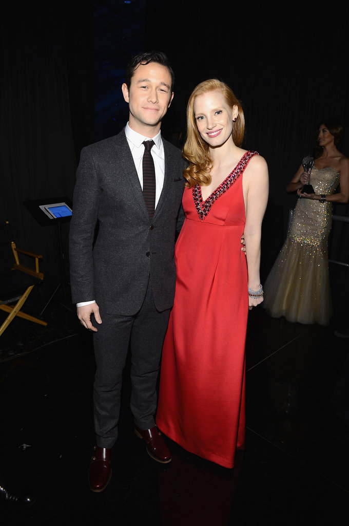 Joseph Gordon-Levitt and Jessica Chastain