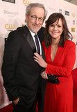 Steven Spielberg and Sally Field