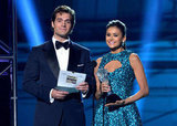 Henry Cavill and Nina Dobrev